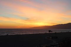 Sunset - Santa Monica, California (russ david) Tags: santa monica ca california sunset pacific ocean travel april 2019 beach