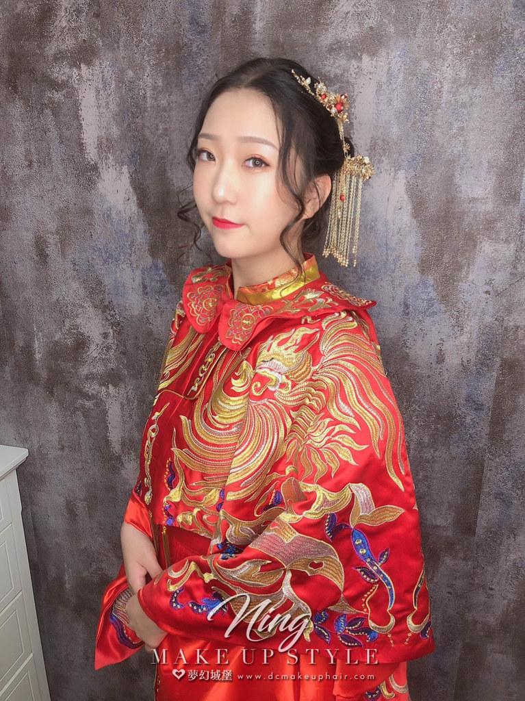 【新秘羽寧】新娘造型創作 / 唯美中式新娘造型