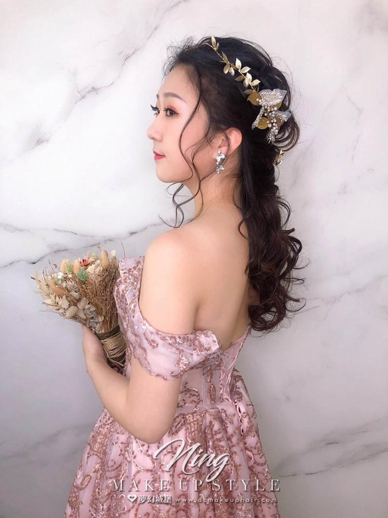 【新秘羽寧】新娘造型創作 / 女神浪漫造型