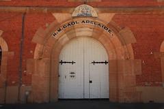 Prison Gates (Darren Schiller) Tags: adelaide australia architecture building closed door gate stone southaustralia museum bricks