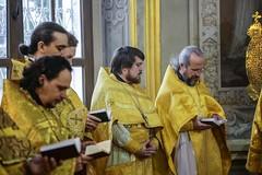 06 февраля 2020, Слушатели курсов повышения квалификации священнослужителей совершили Литургию