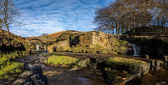 3 shires head pano (Phil-Gregory) Tags: 3 shires head peakdistrict nikon naturalphotography nationalpark water waterscape clouds countryside cloudscape colour scenicsnotjustlandscapes sky tokina tokina1120mmatx trees wideangle ultrawide panorama