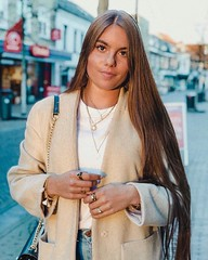 BEF BEFORE (Haarfert) Tags: long short longhair longtoshort cuthair haircut hairstyle makeover brunette ponytail salon braid thickhair thickponytail shave bald headshave