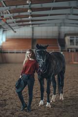 DSC05828-Edit-2 (KirillSokolov) Tags: girl portrait horse ivanovo russia sonya7iii sony8518 mirrorless kirillsokolov девушка портрет лошадь конюшня иваново риат riat