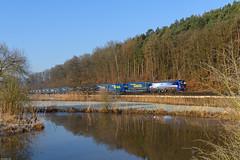 Kinzighausen (steffen_ffm_96) Tags: vectron alpenpiercer sbb kinzigtalbahn eisenbahn güterzug kinzighausen sbbcargo 193518 kbs615 dgs43716 winter kinzig lkwwalter br193 baureihe193