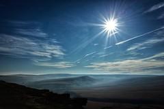 Under the sun (HonleyA) Tags: sun skyscape moors buckstones ricohgr2 gr2