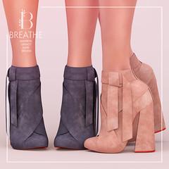 [BREATHE]-Mimoka@C88 ([Breathe]) Tags: collabor88 breathe maitreya belleza slink legacy booties boots daisaadmiral secondlife mesh heels suede leather