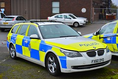 FX60 DYO (S11 AUN) Tags: lincolnshire police bmw 530d estate touring anpr armed response vehicle arv traffic car roads policing unit rpu 999 emergency emopss eastmidlandsoperationalsupportservices fx60dyo