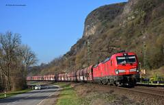 193 344 / 345 DB Cargo (vsoe) Tags: eisenbahn bahn züge güterzug güterzugstrecke lok deutschland germany rheinstrecke rheinlandpfalz rhinevalley rhein erpel sonne sun bluesky 193 vectron siemens db cargo kohlezug falns doppeltraktion