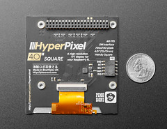 Pimoroni HyperPixel 4.0 Square - Hi-Res Display for Raspberry Pi - Non-Touch - PIM475 (adafruit) Tags: 4498
