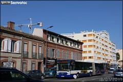 Irisbus Citélis  18 – Tisséo n°0855 (Semvatac) Tags: 2017 bus de grande 14 métro bretagne 18 avenue gramont relais balma irisbus 5470 tisséo 0855 citélis toulouse garonne haute 573chj31 france 31 fr occitanie
