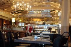 Blick zum Buffet im Frühstücksraum (multipel_bleiben) Tags: essen gastronomie frühstück buffet einblicke