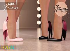 EQUAL - Vera Pumps for  The Saturday Sale (EQUAL SL) Tags: secondlife slink maitreya belleza legacy signature alice shoes pumps sale saturday