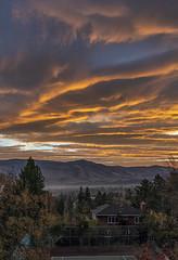 Autumn Sunrise (Al Case) Tags: autumn sunrise ashland oregon al case landscape nikon d500 nikkor 24120mm pnw pacific northwest fall november sky clouds