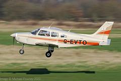 D-EVTO - 1980 build Piper PA-28-161 Cherokee Warrior II, arriving on Runway 26R at Barton (egcc) Tags: 288016271 barton cherokee cityairport devto egcb gevto lightroom manchester n5012v n81615 pa28 pa28161 piper warrior