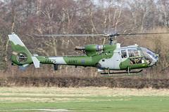 ZA775 - 1980 build Westland Gazelle AH.1, inbound to Barton for a re-fuel and crew break (egcc) Tags: 1817 aac aerospatiale armyaircorps barton cityairport egcb gazelle gazelleah1 helicopter lightroom man manchester sa341 westland za775