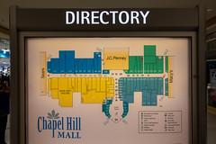 Chapel Hill Mall Directory (unit2345) Tags: chapelhillmall cuyahogafalls ohio mall
