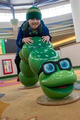 Kids play area caterpillar (unit2345) Tags: chapelhillmall cuyahogafalls ohio mall billy