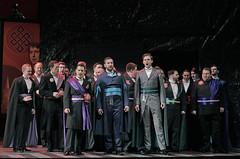 Borsa, Marullo, Ceprano and courtiers