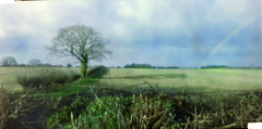 Pinhole rainbow (neilalderney123) Tags: pinhole nolens lensless film 35mm 3dprinted easy35 landscape hampshire rainbow photography rislander trislsn