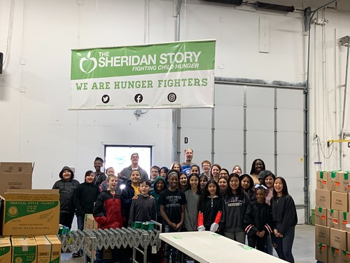 Roseville Student Council Packing Event, 2/5/20