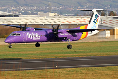 G-PRPO_05 (GH@BHD) Tags: gprpo bombardier dhc dhc8 dhc8402q dasheight flybe belfastcityairport dehavilland be bee turboprop aircraft aviation propliner