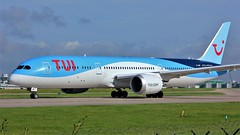 G-TUIM (AnDyMHoLdEn) Tags: thomson tui 787 dreamliner egcc airport manchester manchesterairport 23l