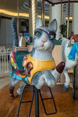Carousel pirate cat (unit2345) Tags: chapelhillmall cuyahogafalls ohio mall