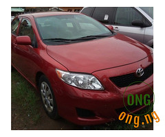 Toyota corolla for sale with the full option. (omoresther2008) Tags: olx nigeria olxnigeria nig abuja lagos phones sell buy online