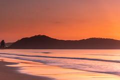 Hot Summer Dawn Seascape (Merrillie) Tags: daybreak landscape nature australia waves waterscape newsouthwales sea earlymorning nsw water beach ocean uminabeach sunrise sky coastal dawn outdoors seascape morning centralcoast coast seaside