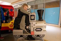 Riding a train (unit2345) Tags: chapelhillmall cuyahogafalls ohio mall jack