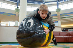 Kids play area caterpillar (unit2345) Tags: chapelhillmall cuyahogafalls ohio mall
