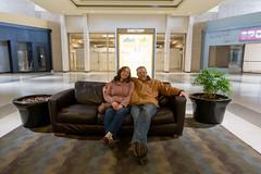 Mom and Dad at Chapel Hill Mall (unit2345) Tags: chapelhillmall cuyahogafalls ohio mall bill dad joanna mom
