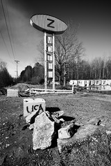 We Will Miss You Old Friend (Dysfunctional Photographer) Tags: monochrome blackwhite sign 1950 zmotel motel abandoned littlerock arkansas 2020 nef nikon z7 captureone decay decaying south southern