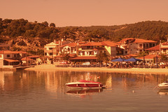 Golden Sunset in Halkadiki (big_jeff_leo) Tags: greek greece scene scenic sea halkidiki europe