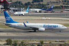 EC-MQP | Air Europa Express | Boeing B737-85P(WL) | CN 60588 | Built 2017 | MAD/LEMD 25/09/2019 (Mick Planespotter) Tags: aircraft airport adolfosuárez madrid madridbarajas barajas 2019 nik sharpenerpro3 aviation avgeek avion spotter b737 737 b738 plane planespotter airplane aeroplane jet ecmqp air europa express boeing b73785pwl 60588 2017 mad lemd 25092019 iag flugzeuge canon eos 80d
