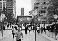 Time (Roy Richard Llowarch) Tags: canarywharf time clocks bwphotos bw bwphotography canarywharflondon people architecture mono monophotos monophotography buildings london lovelondon monochrome monochromephotos monochromephotography londonengland england english blackwhite blackwhitephotos blackwhitephotography cities capitalcities walking plazas squares travel business greyscale greyscalephotos greyscalephotography royllowarch royrichardllowarch llowarch ldn docklands unitedkingdom greatbritain britain canon canonphotos canonphotography streets streetphotography europe european work gmt 2019 pinkfloyd