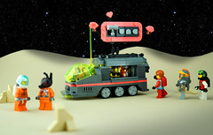 Febrovery 2020 Day 7 (TFDesigns!) Tags: lego space rover febrovery foodtruck tuna fluffy cat kepler van allen
