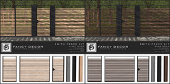 Smith Fence Kit @ Collabor88 (fancydecorsl) Tags: c88 collabor88 fancy decor sl second life