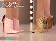 EQUAL - Wanda Ankle Boots (EQUAL SL) Tags: secondlife shoes slink maitreya belleza legacy alice collabor88 boots equal