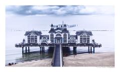RÜGEN (herbert thomas hesse) Tags: hth seebrücke pier sellin rügen ostseebad insel küste sea landscape balticsea national germany deutschland meer urlaub