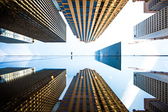 Half the Time Has Passed Away (Thomas Hawk) Tags: america manhattan moma museum museumofmodernart nyc newyork newyorkcity usa unitedstates unitedstatesofamerica architecture reflection fav10 fav25 fav50 fav100