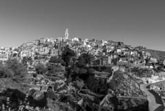 Bocairent (Valencia) (miguelmoll387) Tags: bw blancoynegro monocromo bn bocairent trees valencia torre arboles pueblo casas comunidadvalenciana sigma1770 nikond7100