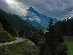 La strada per Zinal (giorgiorodano46) Tags: august 2008 giorgiorodano agosto2008 alps alpi alpes alpen alpipennine alpesvalaisannes alpisvizzere switzerland swissalps suisse anniviers valdanniviers vallese valais wallis suisseromande romandie zinal clouds