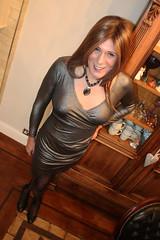 A bit low cut for me. (suedel36) Tags: crossdresser crossdress transvestite pantyhose tights nylon tgirl tgurl