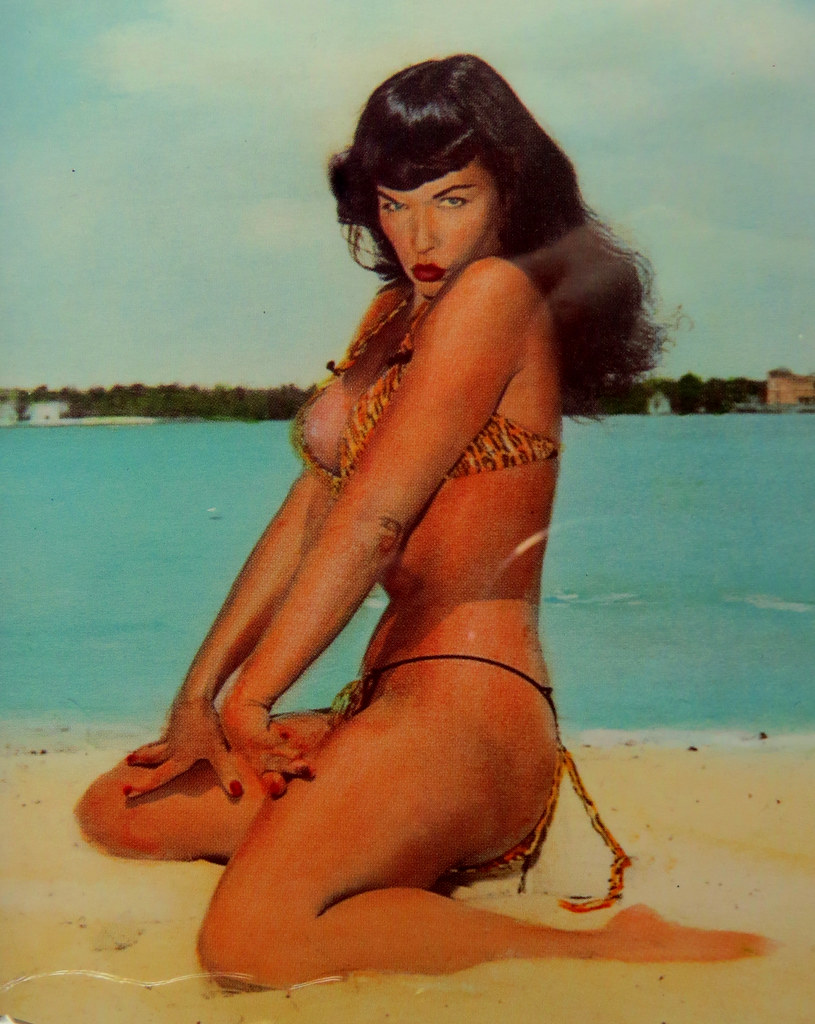 Sexy Bettie Page from the 1950s still holds up in 2020.
