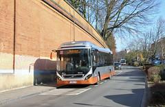 9448 T93 barré Bockstael (via Prince Léopold) (brossel 8260) Tags: belgique bruxelles bus stib