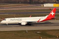 HB-JVR_01 (GH@BHD) Tags: hbjvr embraer erj190 erj190200lr helveticairways zurichairport 2l zrh lszh zurich kloten regionaljet aircraft aviation airliner