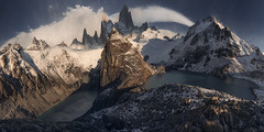 The Fitzroy Massif (Andrew G Robertson) Tags: fitzroy panorama massif argentina patagonia