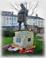 In recognition * (new Statue) (John(cardwellpix)) Tags: in recognition new statue special relationship between the parachute regiment air forces aldershot home british army 1946 2000 sculptor goodman ~2019